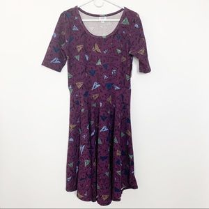 NWT LuLaRoe Nicole Dress L #2287